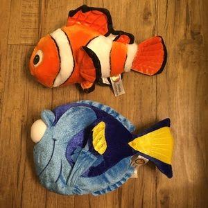 Disney Nemo & Dory Plushes